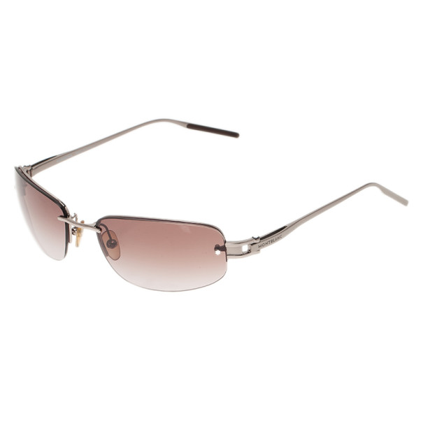 Montblanc Silver MB83S Sunglasses