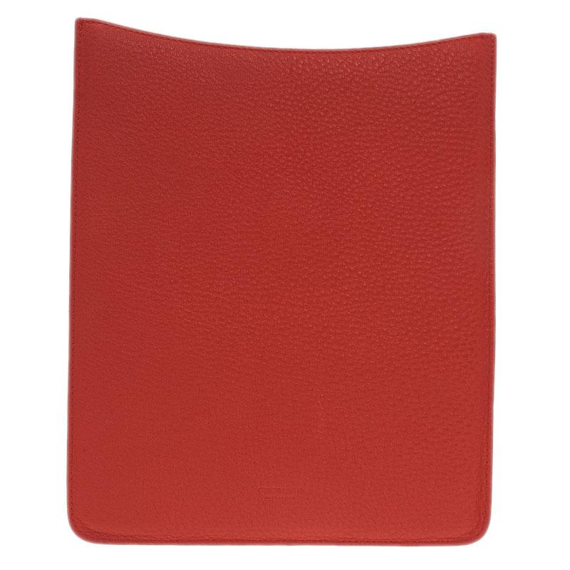 Giorgio Armani Orange Leather iPad Air Cover