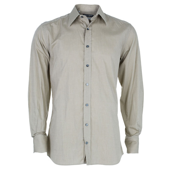 Dolce and Gabbana Tailored Fit Men's Shirt L