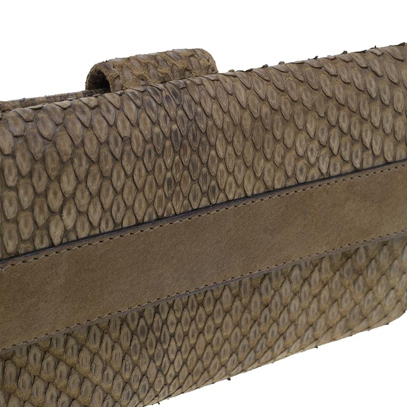 Gucci GG Python Continental Wallet