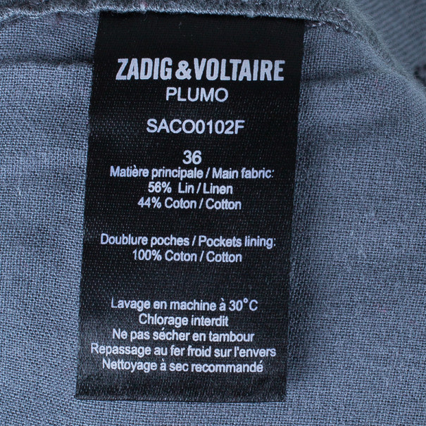 Zadig & Voltaire Plumo Cropped Pants S