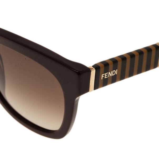 Fendi Brown Pequin 5351 Wayfarers