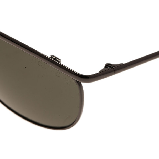 Tom Ford Black Tate Unisex Aviators