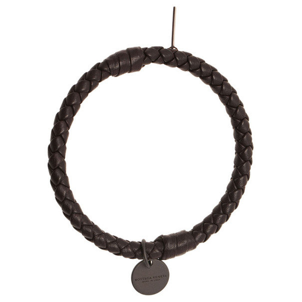 Bottega Veneta Intrecciato Nappa Brown Bracelet S