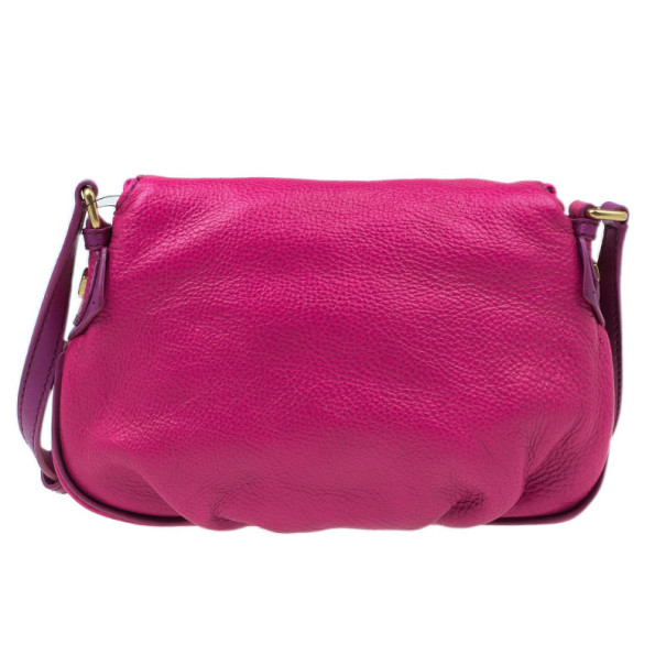 Marc by Marc Jacobs Pop Pink Leather Classic Q Natasha Bag