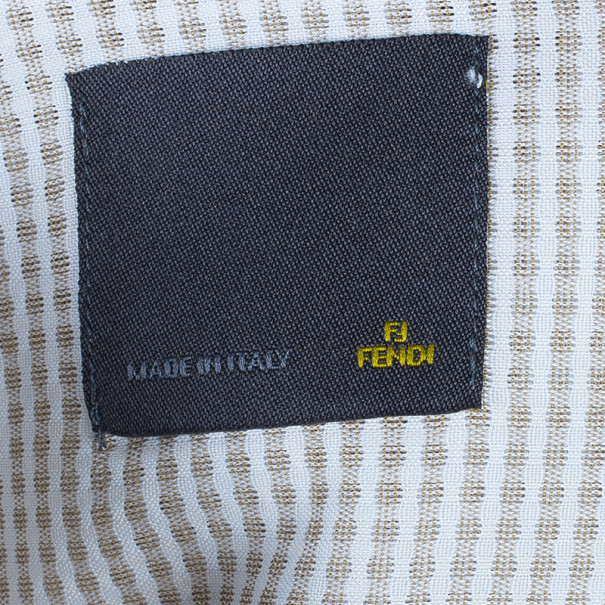 Fendi Brown Check Shirt EU39