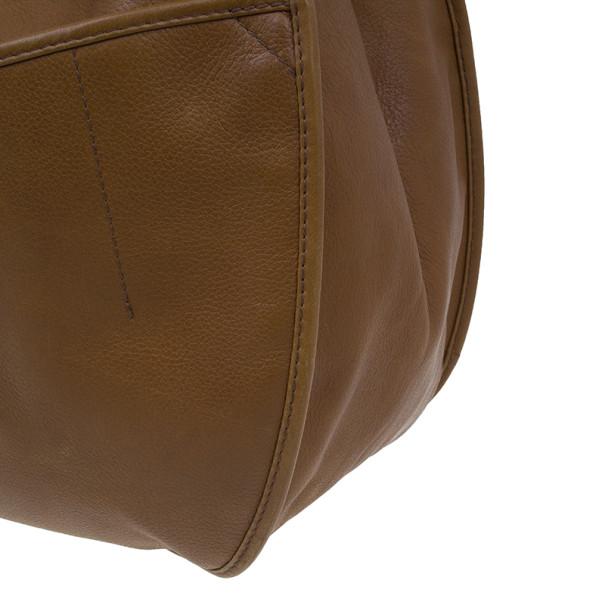 Dior Brown Leather Medium 61 Hobo