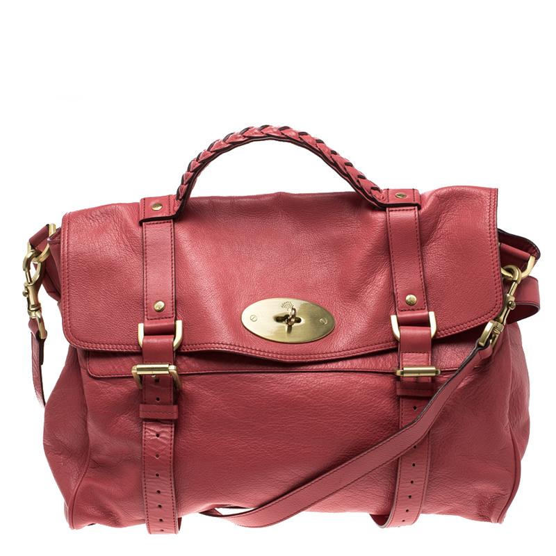b2df4291dbf uk mulberry oversized alexa leather bag 37848 ce03f