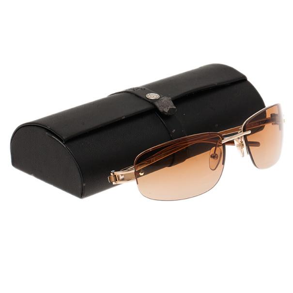 Montblanc Gold Frame MB83S Sunglasses