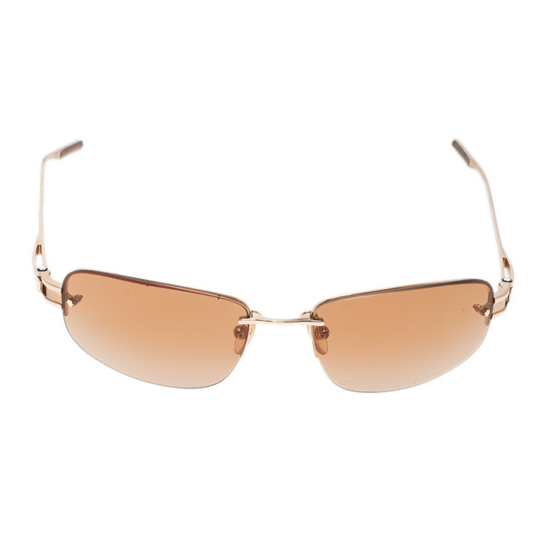 Montblanc Gold Frame MB83S Sunglasses