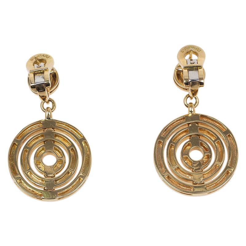 Bvlgari Cerchi Astrale Yellow Gold Earrings