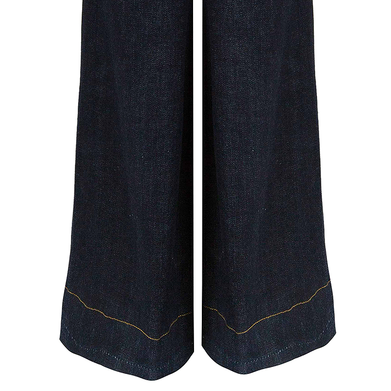 Tory Burch Blue Denim High Waist Flare Jeans S