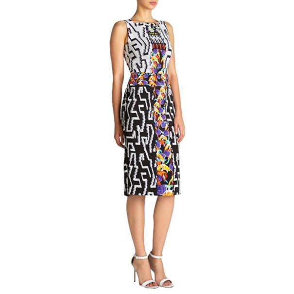 Peter Pilotto Kia Printed Knee-Length Dress L