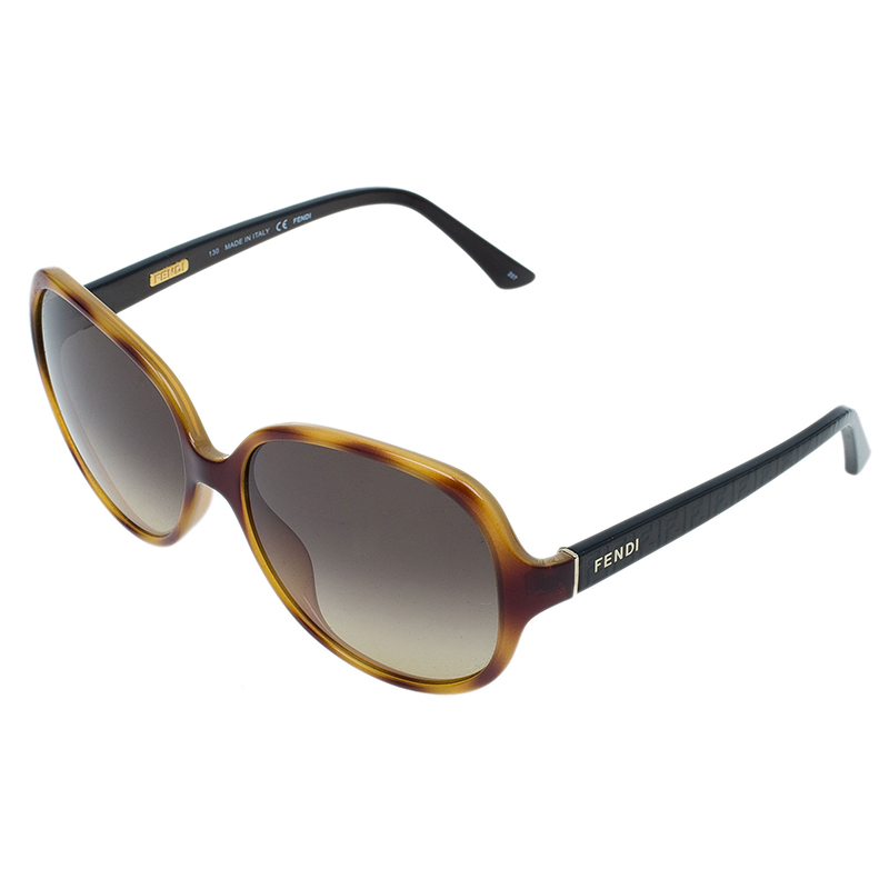 Fendi Brown Oversized Square 5274 Sunglasses