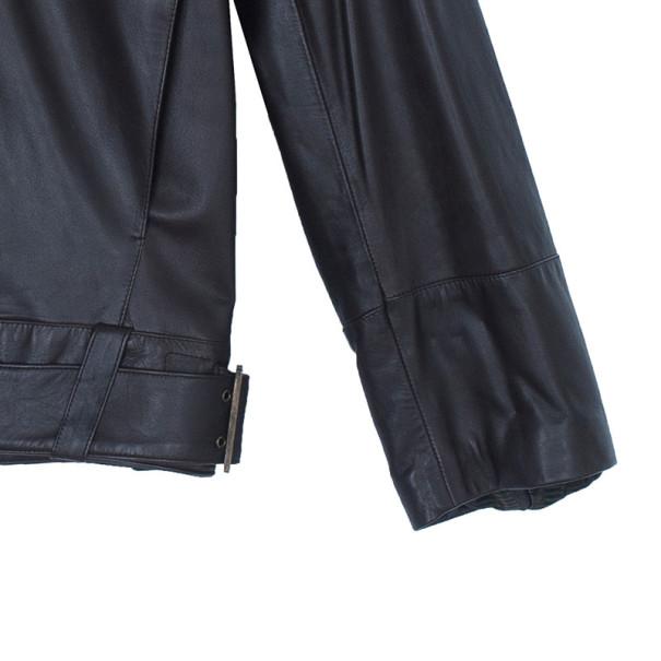 Fendi Brown Leather Jacket L