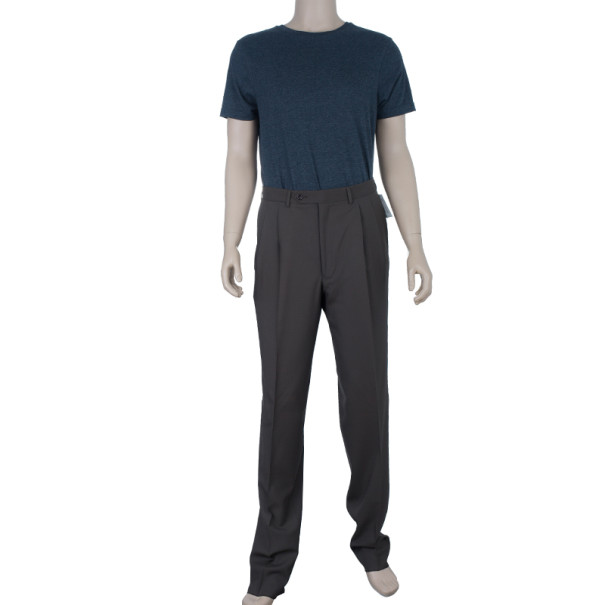 Celine Brown Tapered Trousers M