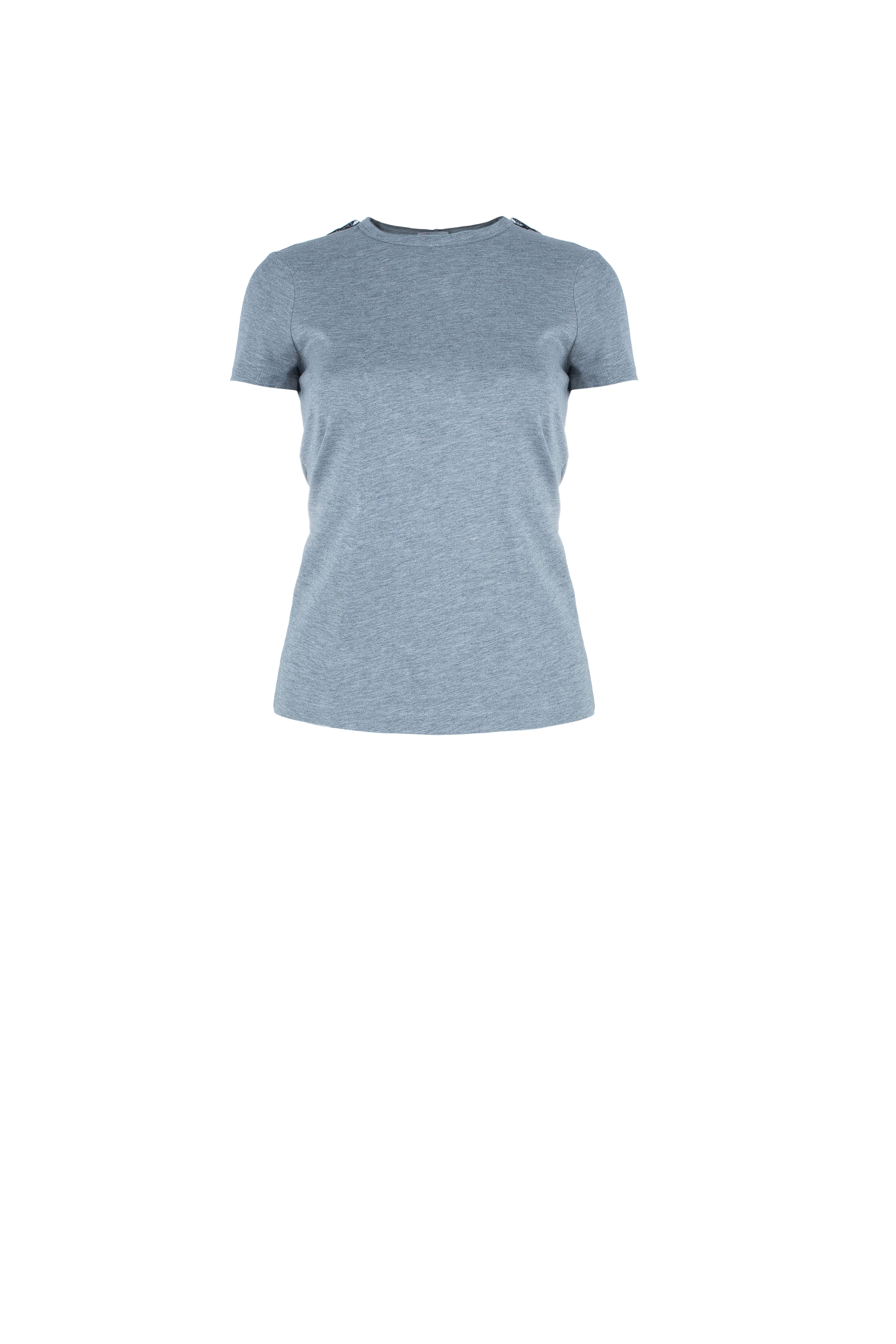 RED Valentino Grey Bow Top XS