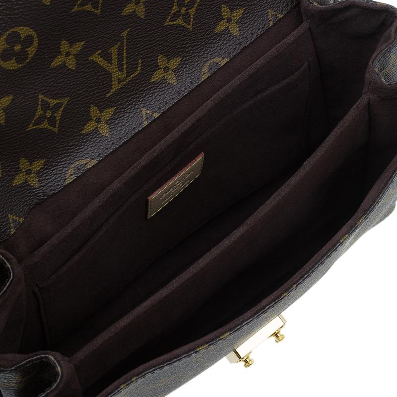 Louis Vuitton Monogram Canvas Pochette Metis Bag