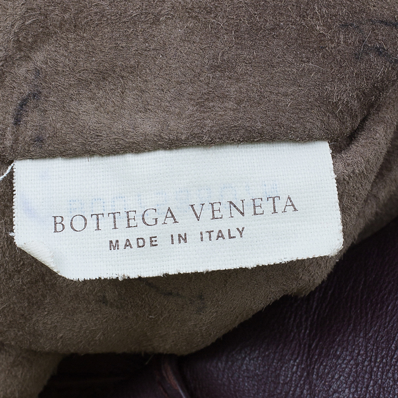 Bottega Veneta Purple Intrecciato Nappa Leather Large Campana Hobo