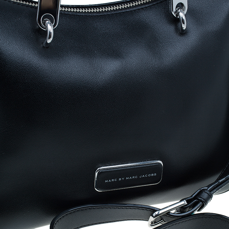 Marc by Marc Jacobs Black Leather Ninja Nano Crossbody Bag
