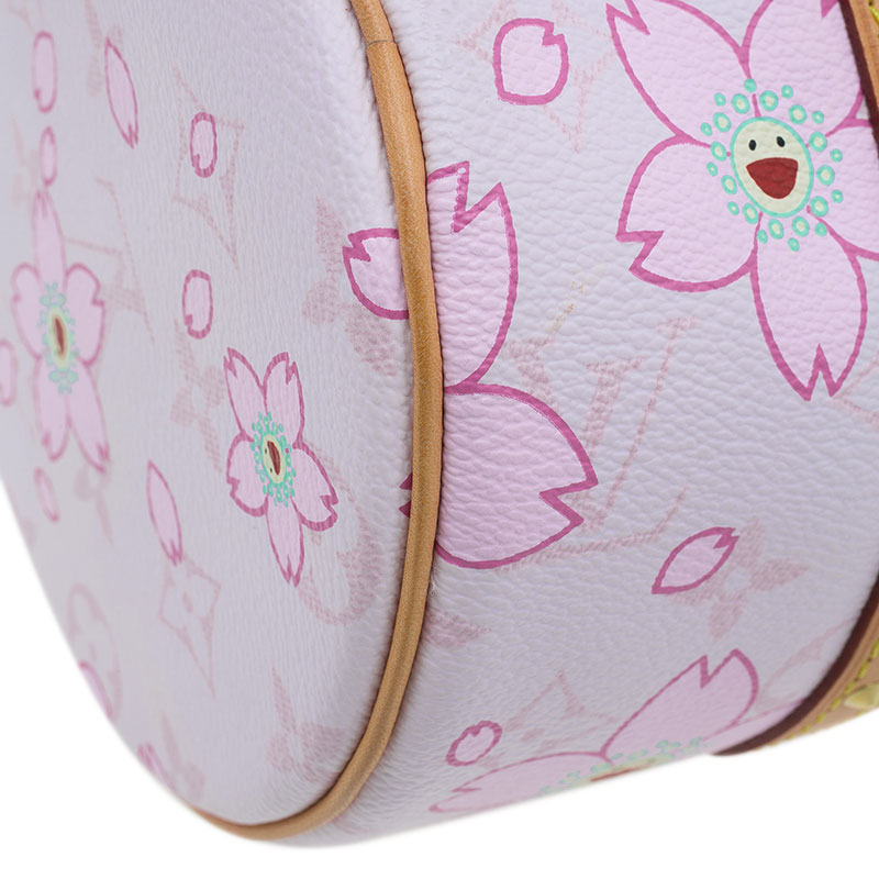 Louis Vuitton Pink Monogram Canvas Limited Edition Cherry Blossom Papillon Bag