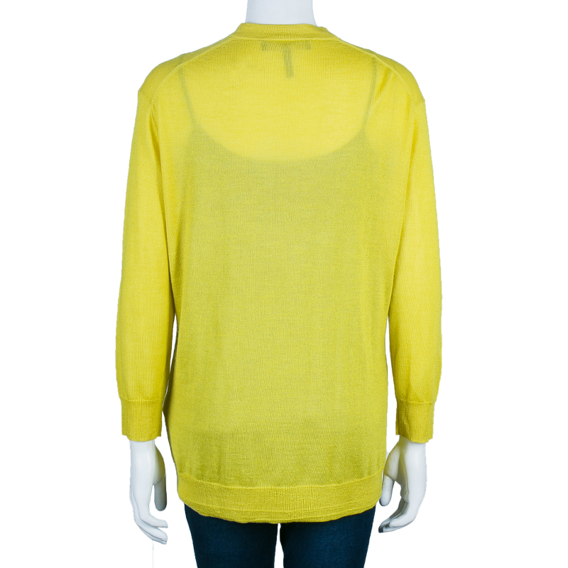 Isabel Marant Yellow Cardigan M