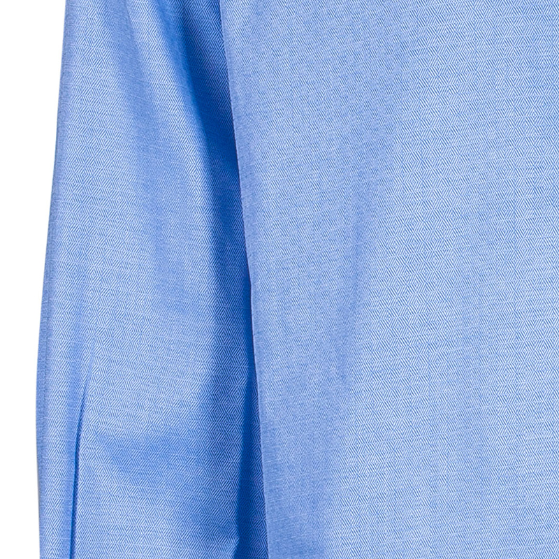 Fendi Men's Light Blue Cotton Shirt M