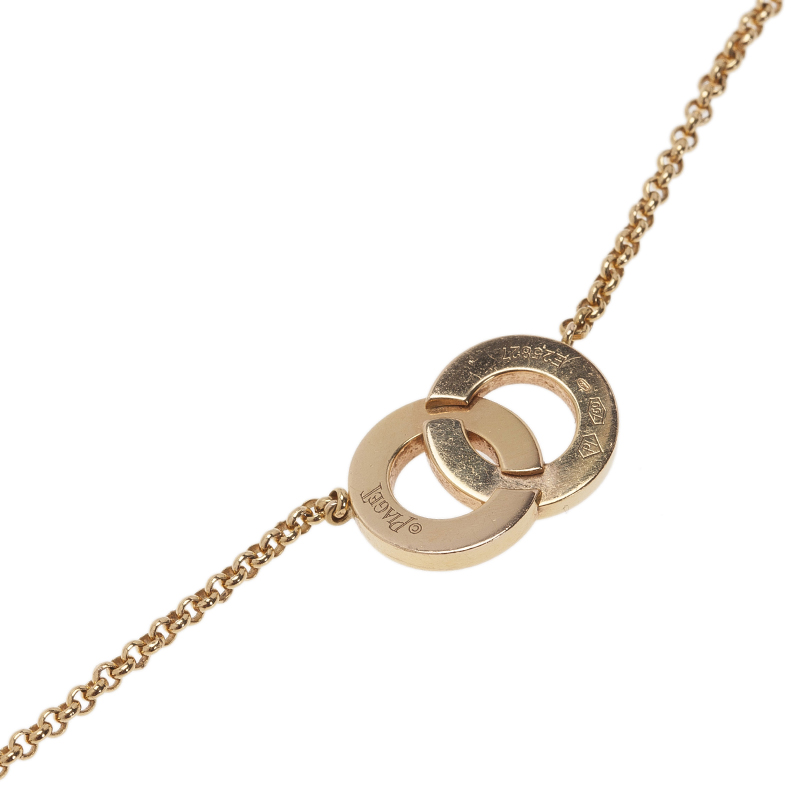Piaget Possession Toi & Moi Diamond Yellow Gold Pendant Necklace