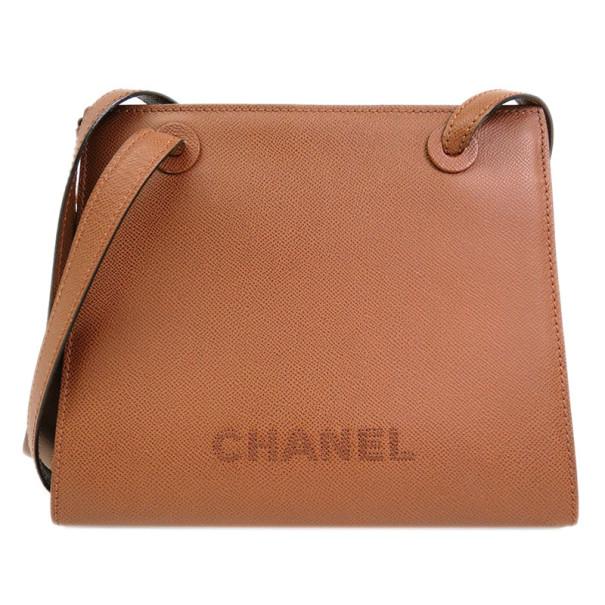 Chanel Brown Caviar Shoulder Bag