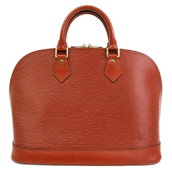 Louis Vuitton Gold Cipango Epi Leather Alma PM