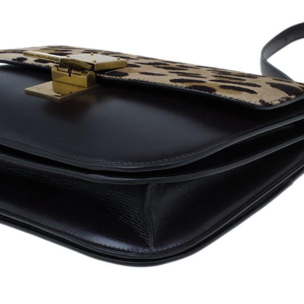 LC - Buy \u0026amp; Sell - Celine Leopard Print Leather Medium Classic Box Bag
