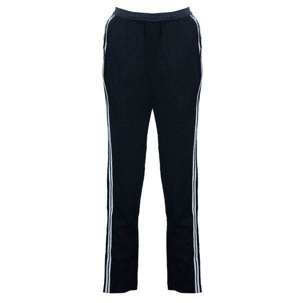Zadig & Voltaire Black Pale Bis Track Casual Pants S