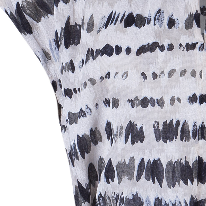 Kenzo Monochrome Dotted Top M