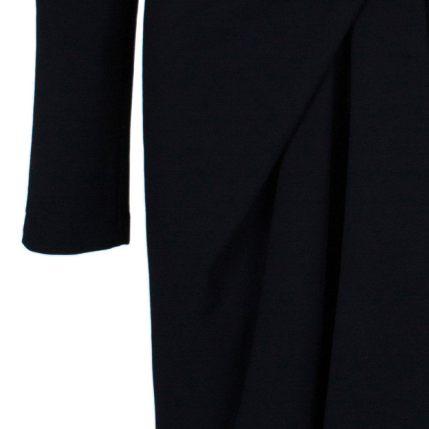Emillio Pucci Black Knot Detail Dress M