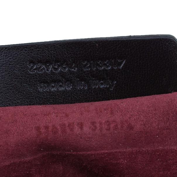 Saint Laurent Paris Red Crocodile-Embossed Leather Flap Bag
