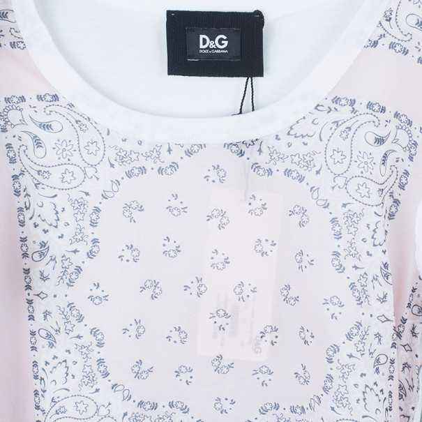 D&G Bandana Print T-Shirt S