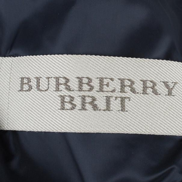 Burberry Quilted Biker Jacket M