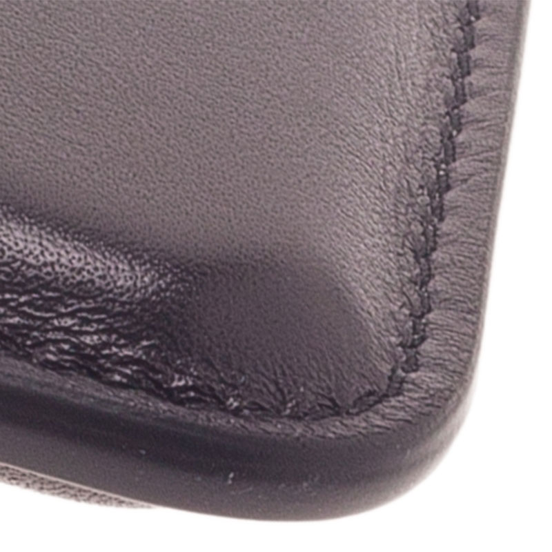 Montblanc Black Perforated Leather Meisterstuck iPhone 4/4S Case