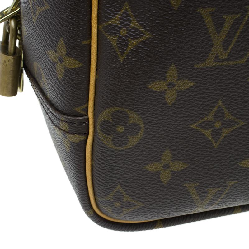 Louis Vuitton Monogram Canvas Deauville Bag