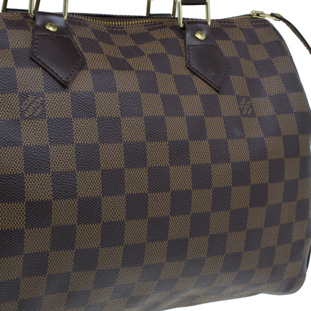 Louis Vuitton Damier Ebene Canvas Speedy 30