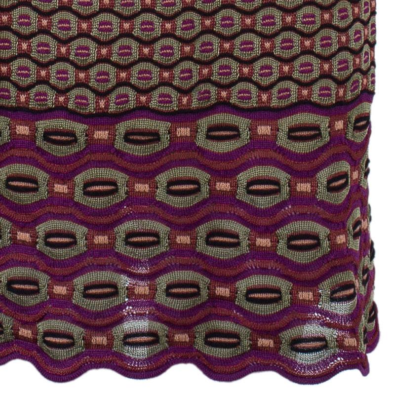 M Missoni Multicolor Flare Dress S