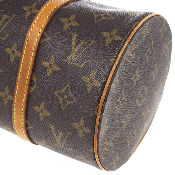Louis Vuitton Monogram Canvas Papillon 30 Bag With Accessories Pouch