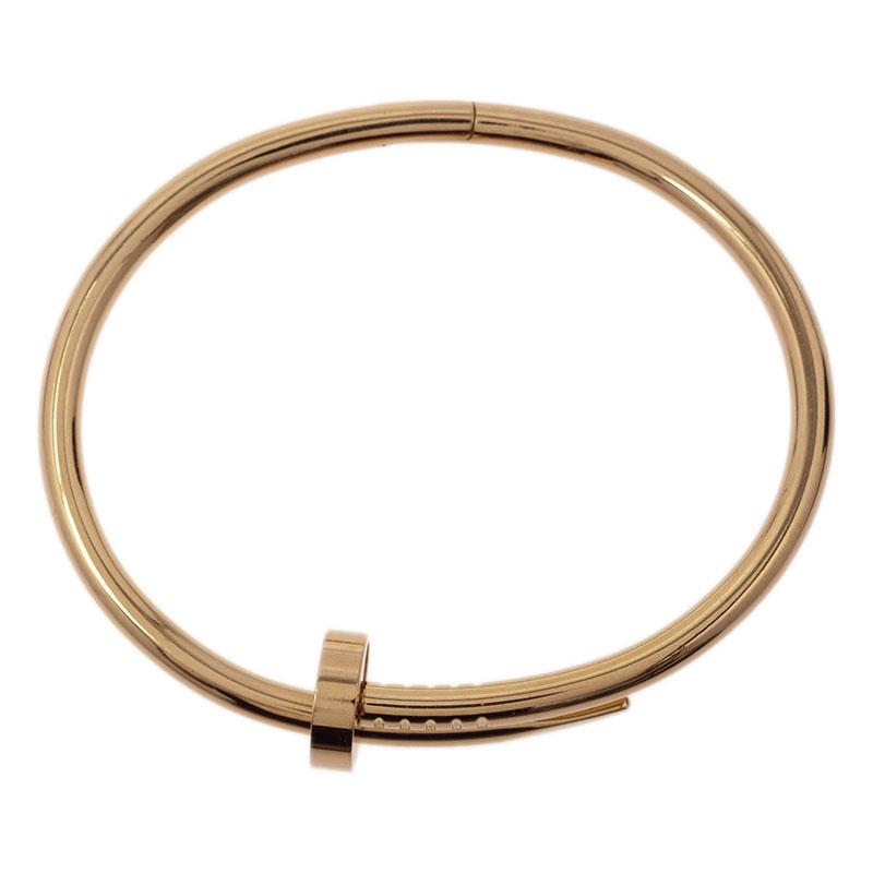Cartier Juste Un Clou Rose Gold Bracelet 16cm