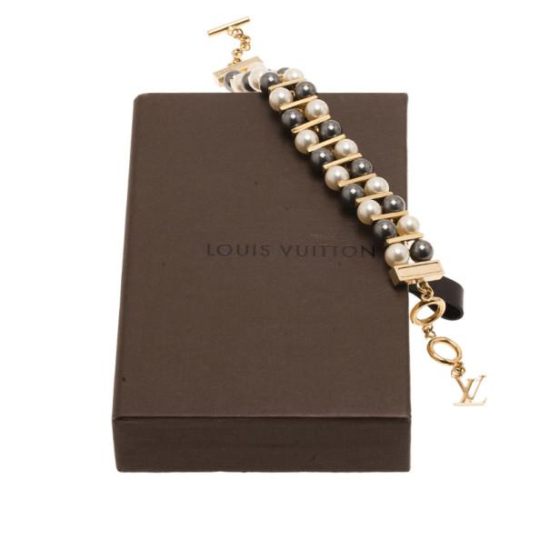 Louis Vuitton Pearl Bracelet 24CM