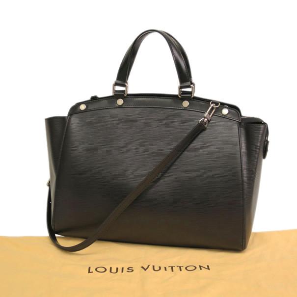 Louis Vuitton Noir Epi Leather Brea GM