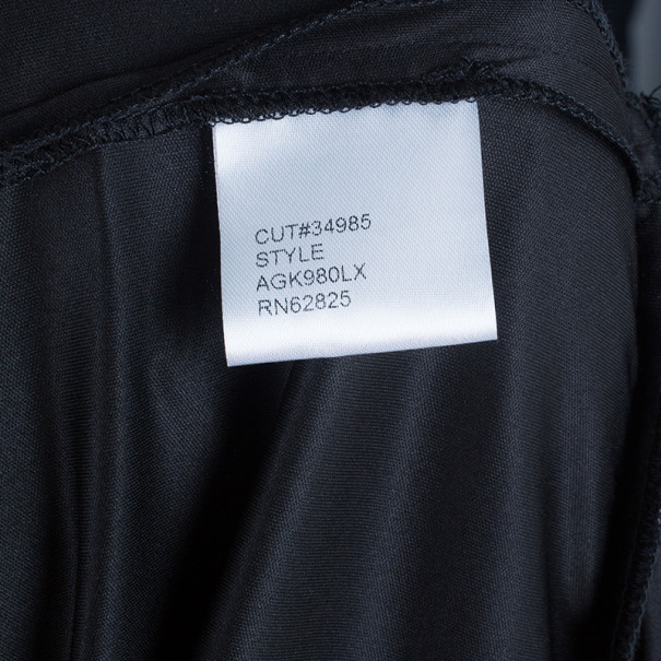 Tadashi Shoji Off-Shoulder Black Lace Gown XL
