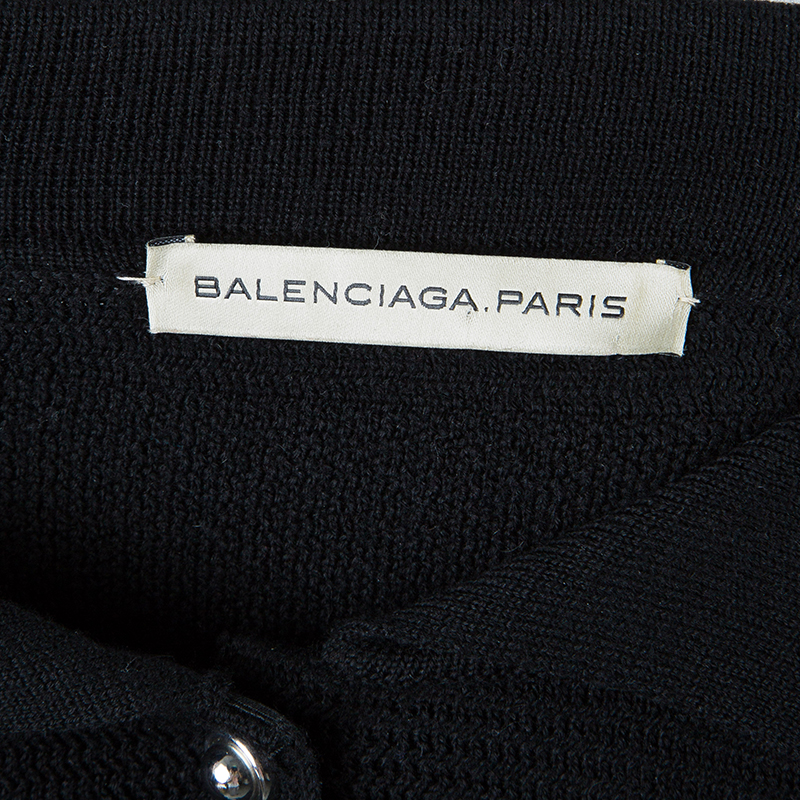 Balenciaga Colorblock Sweater Dress M