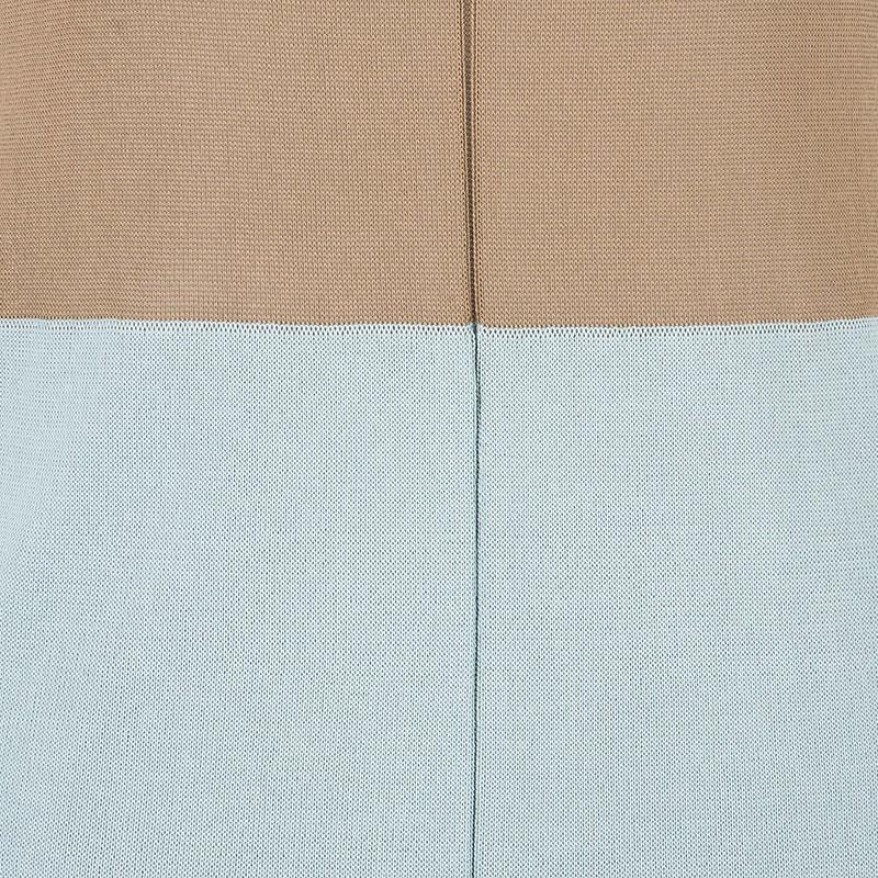 Balenciaga Colorblock Sleeveless Dress M