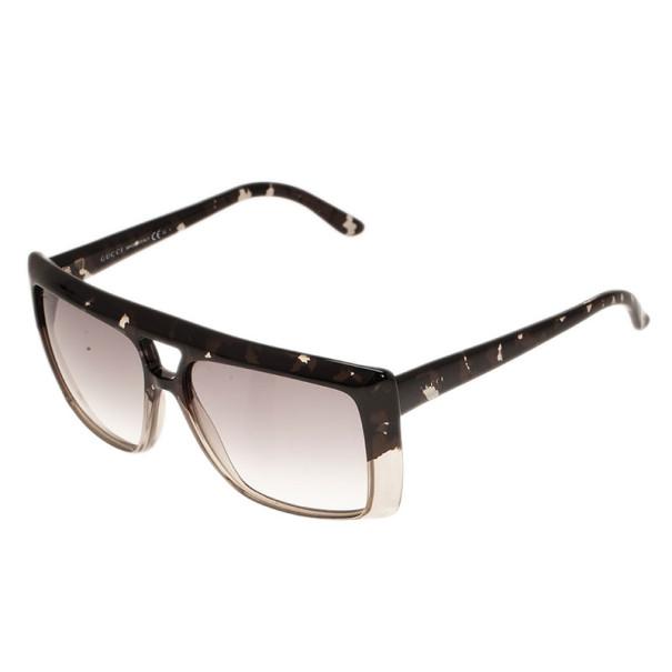 Gucci Leopard GG3532 Oversized Square Sunglasses