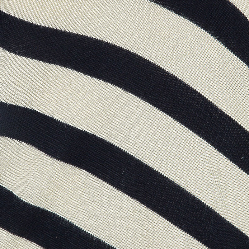 Celine Monochrome Knit Stripe Top L